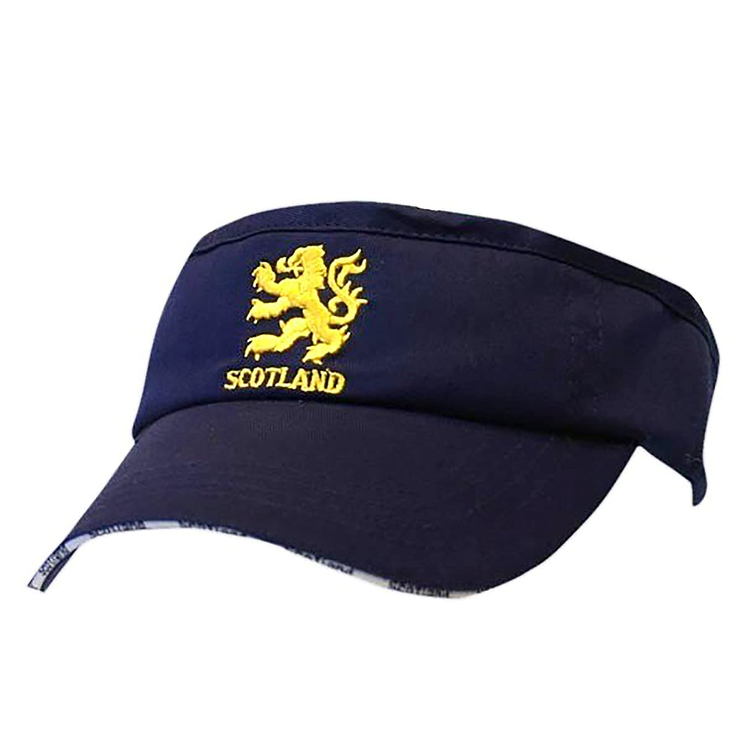Scotland Lion Embroidered Visor Cap