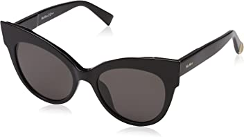 Max Mara Womens Mm Anita Polarized Cateye Sunglasses BLACK 52 mm