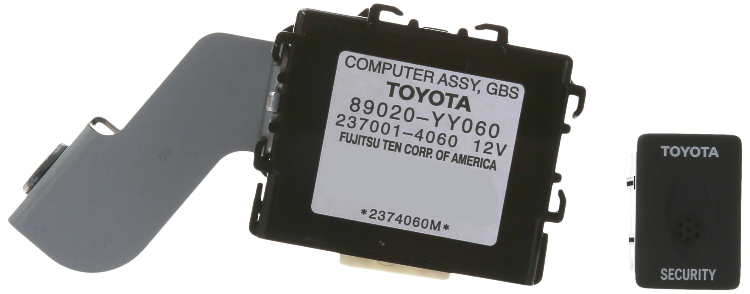 Genuine Toyota Accessories (08586-0C890) RS3200 Plus Alarm Security System with Glass Breakage Sensor