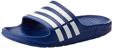 brand new d3aed 43296 adidas Performance Herren Badeschuhe Duramo Slide hellblau (299) 4313EU