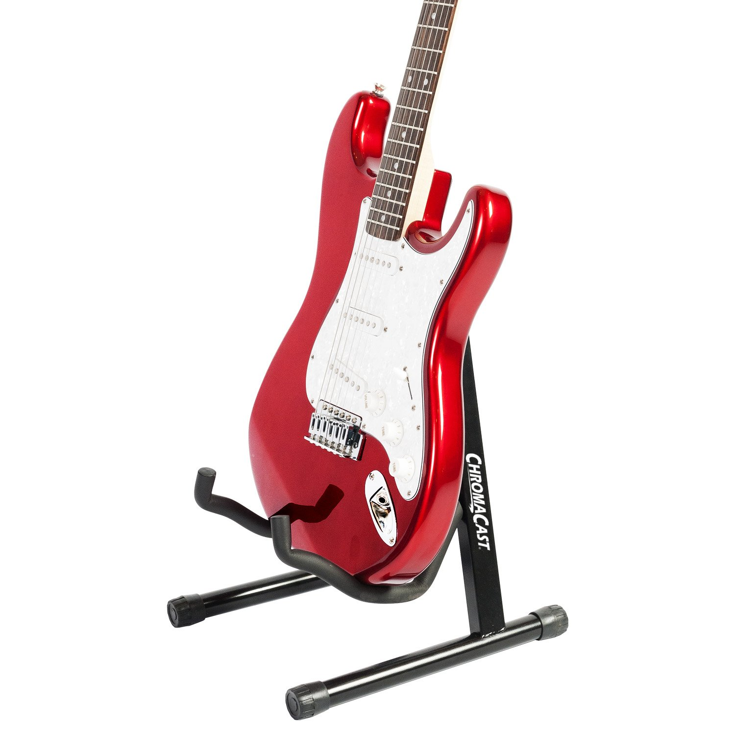 Amazon ChromaCast CC MINIGS Universal Folding Guitar Stand With Secure Lock Musical Instruments