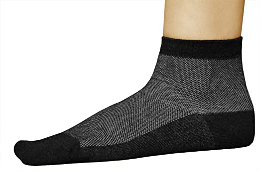 3 PAIRES antibact/érienne respirante vitsocks Chaussette ARGENT-Coton pieds frais homme