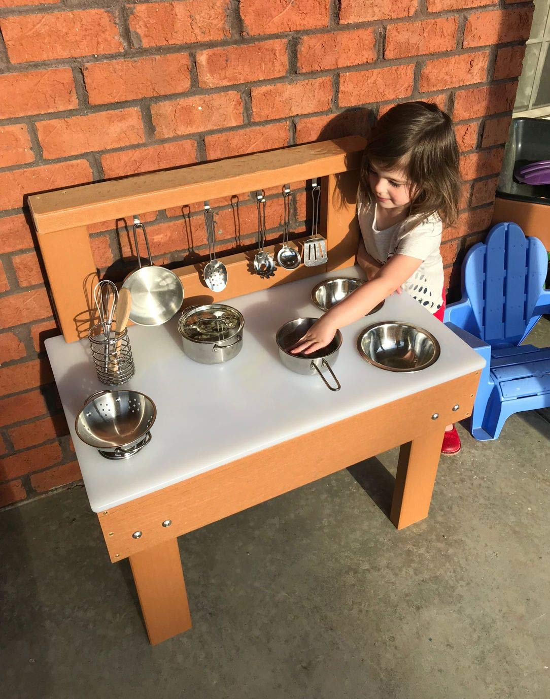 Kids' Station Indoor/Outdoor Toddler Kitchen by Kid's Station Outdoor (Image #1)