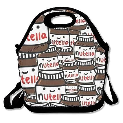 Tuja fondos Tumblr de Nutella bolsas de almuerzo para las mujeres, adultos, niños,