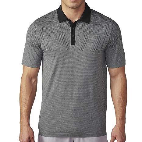 adidas Golf Camisa de Primeknit Climacool Polo para Hombre: Amazon ...
