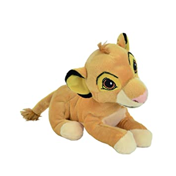 Felpa de SIMBA de El Rey Leon 20cm serie ANIMAL FRIENDS de Disney - Original con