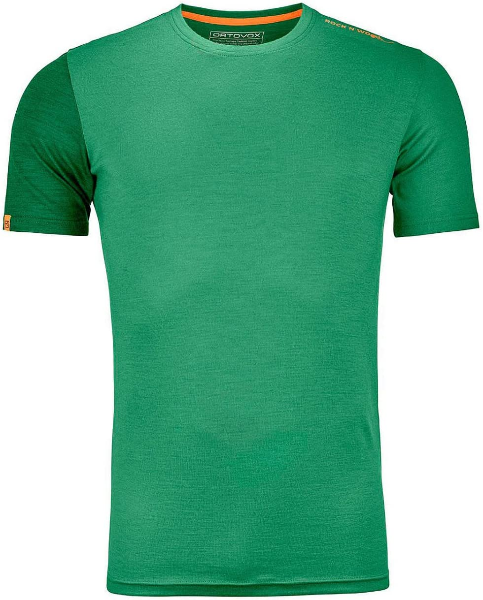 Homme Ortovox 185/Rockn Wool Short Sleeve M T-Shirt Thermique