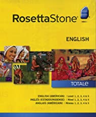 Aprende Inglés (Americano) con Rosetta Stone – Niveles 1-5 (Curso Completo)