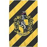 """Hufflepuff Crest -- Harry Potter -- Beach Towel (36"""" x 58"""")"""