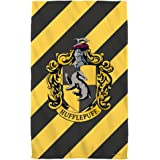 "Hufflepuff Crest -- Harry Potter -- Bath Towel (27"" x 52"")"