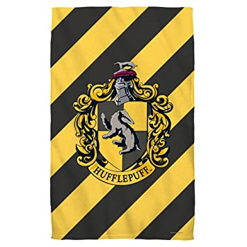 "Harry Potter Hufflepuff Crest – - – -toalla de baño (27 ""X"