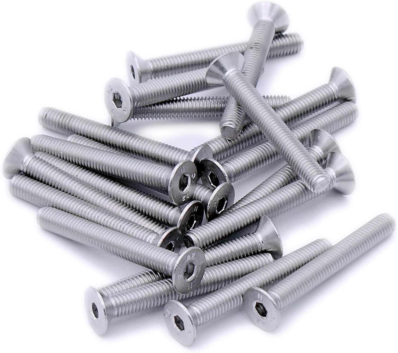 Tornillo avellanado hexagonal para m/áquina perno