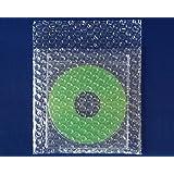 ボックスバンク プチプチ 梱包袋 CDサイズ 100枚セット 強度アップ材質d40 KF03