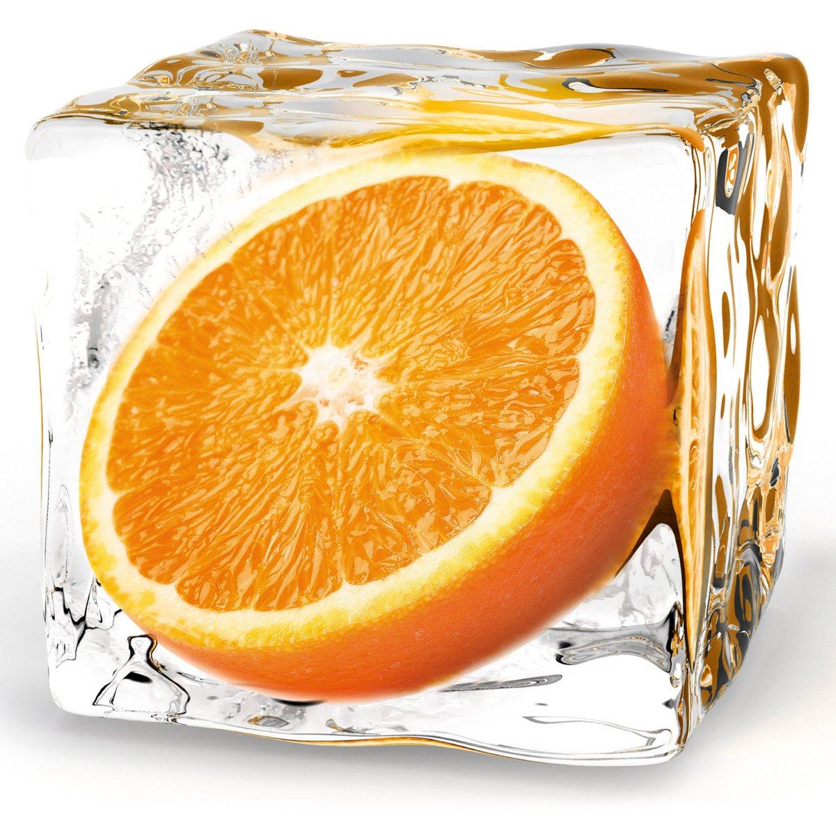 Eurographics DG-DT7175 Impression sur verre Motif orange 20 x 20 cm DG-DT5174