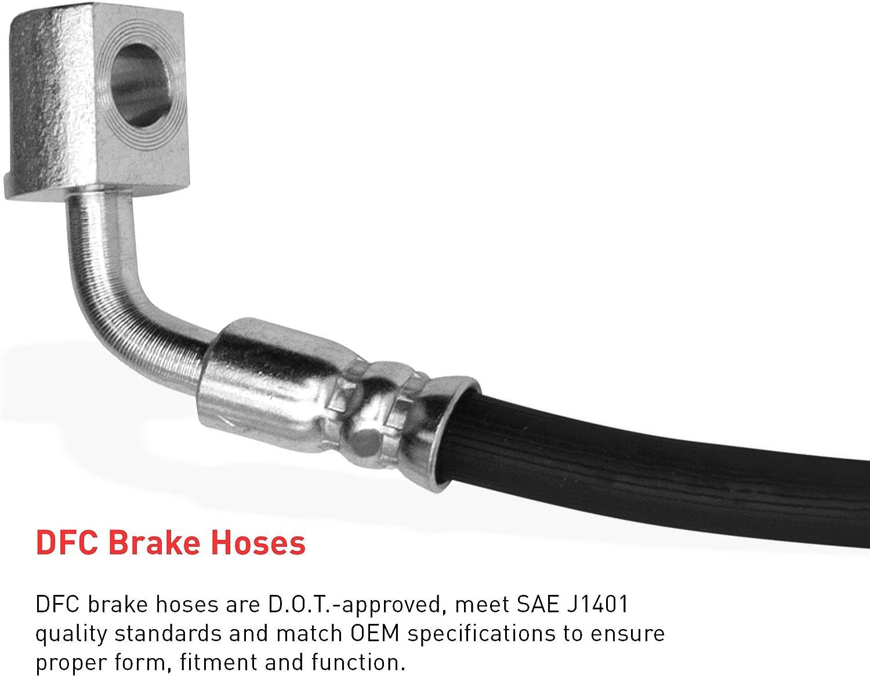Front Dynamic Friction Company Brake Line Hose 350-20008