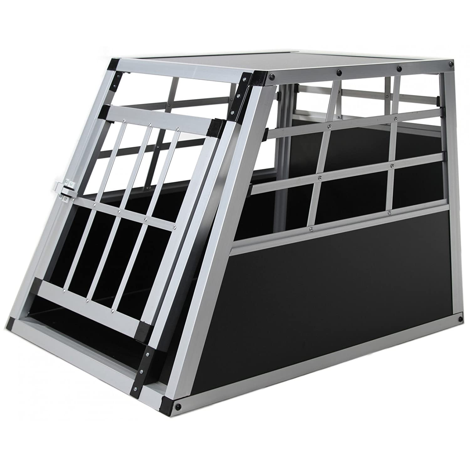 Jalano Dog Car Boot Transit Box S Aluminium Grille Box for Small Dogs