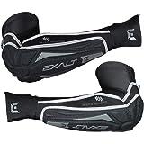 Exalt Paintball T3 Elbow Pads - Black / Grey