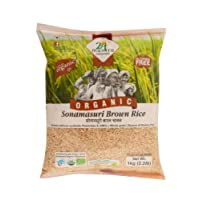 24 Mantra Organic Sonamasuri Brown Rice, 1kg