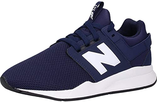 NEW BALANCE Scarpa ginnica 247 grand school stringata blu