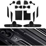 YEE PIN Palisade Console Liner Mats Door Gate Slot Mats Door Mats Fit for 2020 2021 Palisade SEL Center Console Liner…