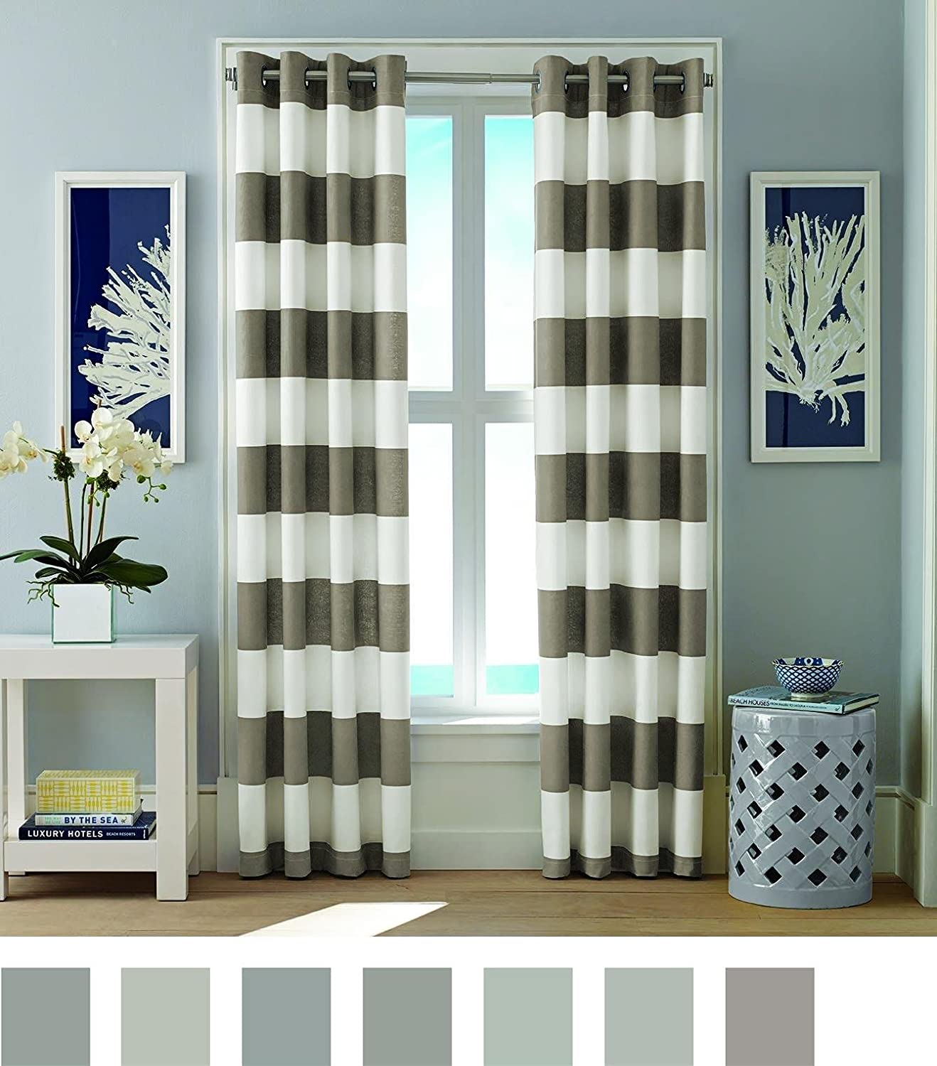 House Linen Drapery Curtain Panels Q Design :: Drapery & Design Resource  Centre