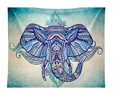 Smile YKK Cojín de Yoga Dibujo de Elefante Forma de Cuadrado ...
