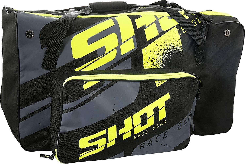 Shot Valise Kit Sac Motocross Rangement Transport Sac Noir//Jaune