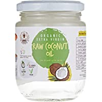 Organic Extra Virgin Raw Coconut Oil - 200 Ml (Pack Of 1) (CPL000001)