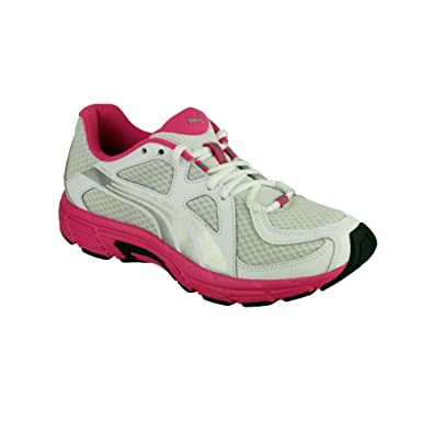 ladies pink puma trainers