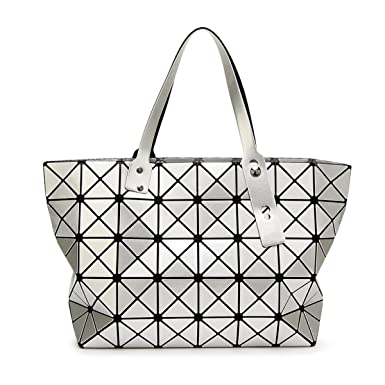 Ladies 7 8 Patent Leather Bright Face Handbags Japanese Trend Shoulder Bag  Lingge Rubik s Cube Handbag cf0a2b856f39e