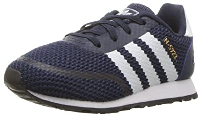 318b00268a9 adidas Originals Baby N-5923 EL I Running Shoe, Collegiate Navy, FTWR White