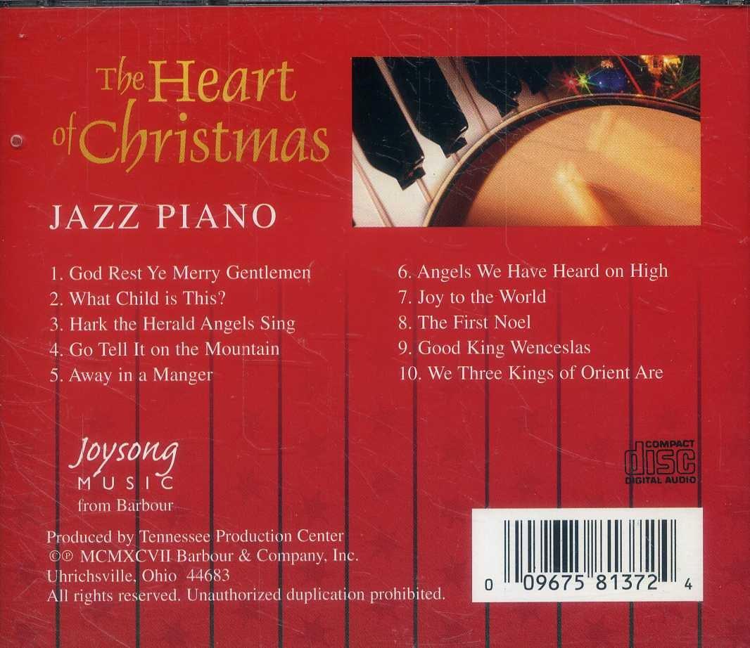 Jazz Piano The Heart Of Christmas Amazon Com Music
