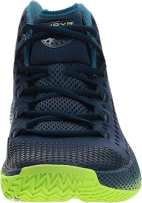 Under Armour Mens UA HOVR Havoc 2 Basketball Shoes 3022050-401 Navy//Green Sz 9.5