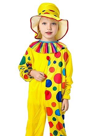 Amazon.com: Niños Disfraz de payaso de circo Halloween ...