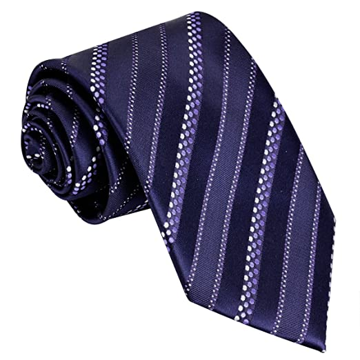 8285d2336a6f Classic Woven Men's Ties Neckties for Wedding Graduation Party Dress  (Geometric Stripe ...