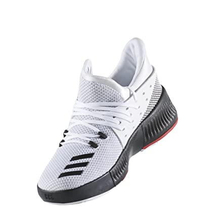 new styles 3e395 b1ea3 adidas D Lillard 3 Ps White Black Scarlet Ps Basketball 1