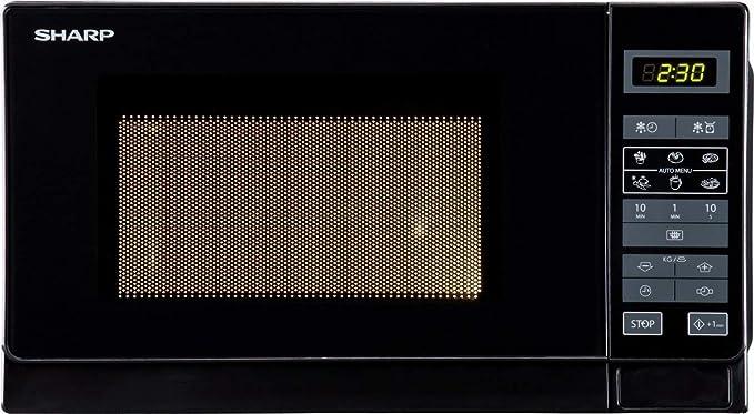 SHARP R-742BKW - Micro-ondes grill - Noir - 25L - 900 W - Grill ...