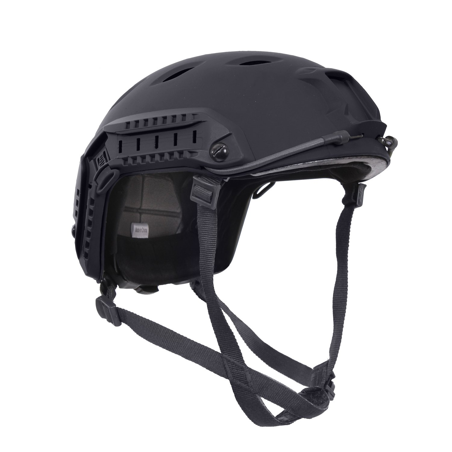 Rothco Advanced Tactical Adjustable Airsoft Helmet, Black by Rothco
