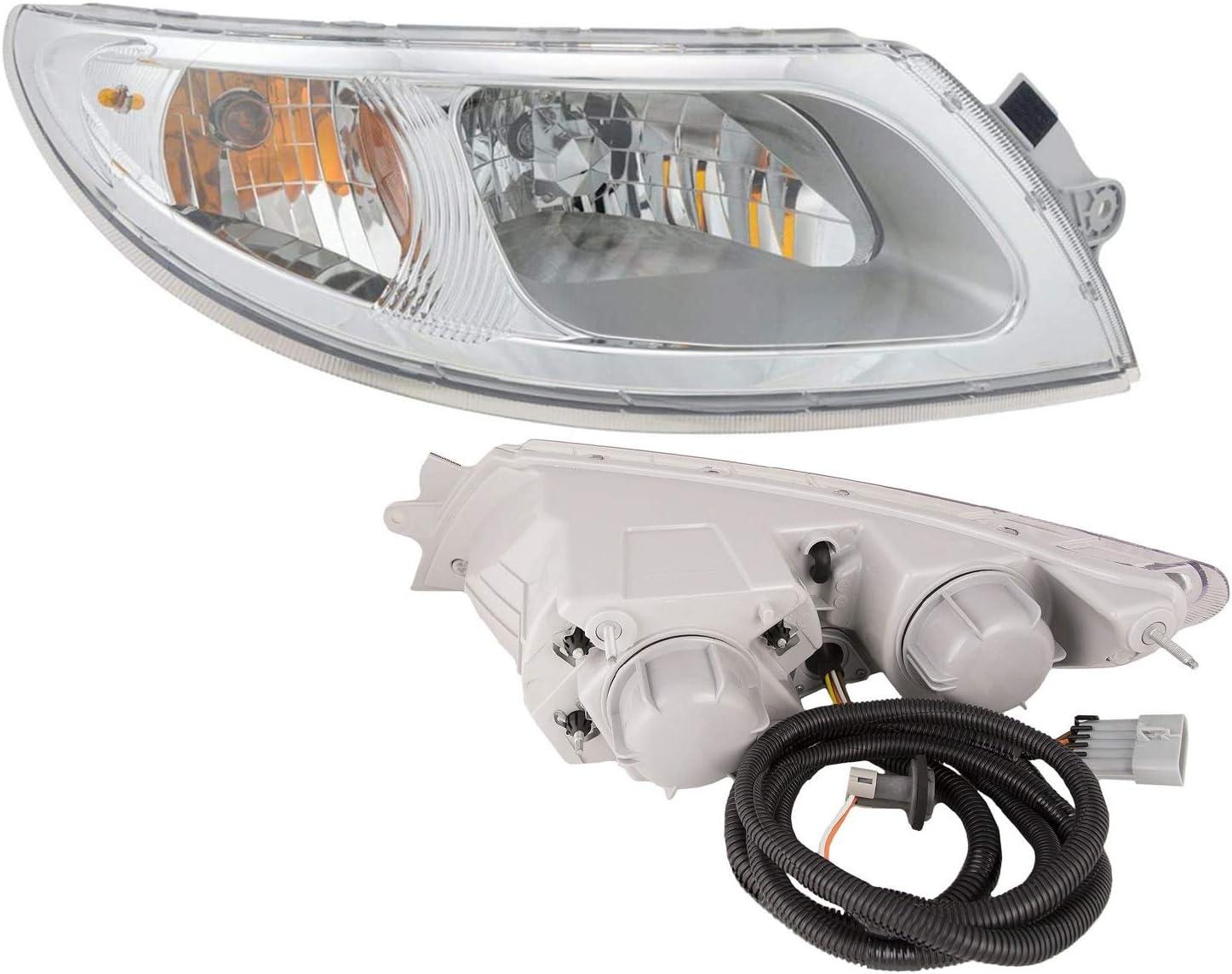Body Motors -Chrome 6 inch LED 2007 International 7000 SERIES-RH ...