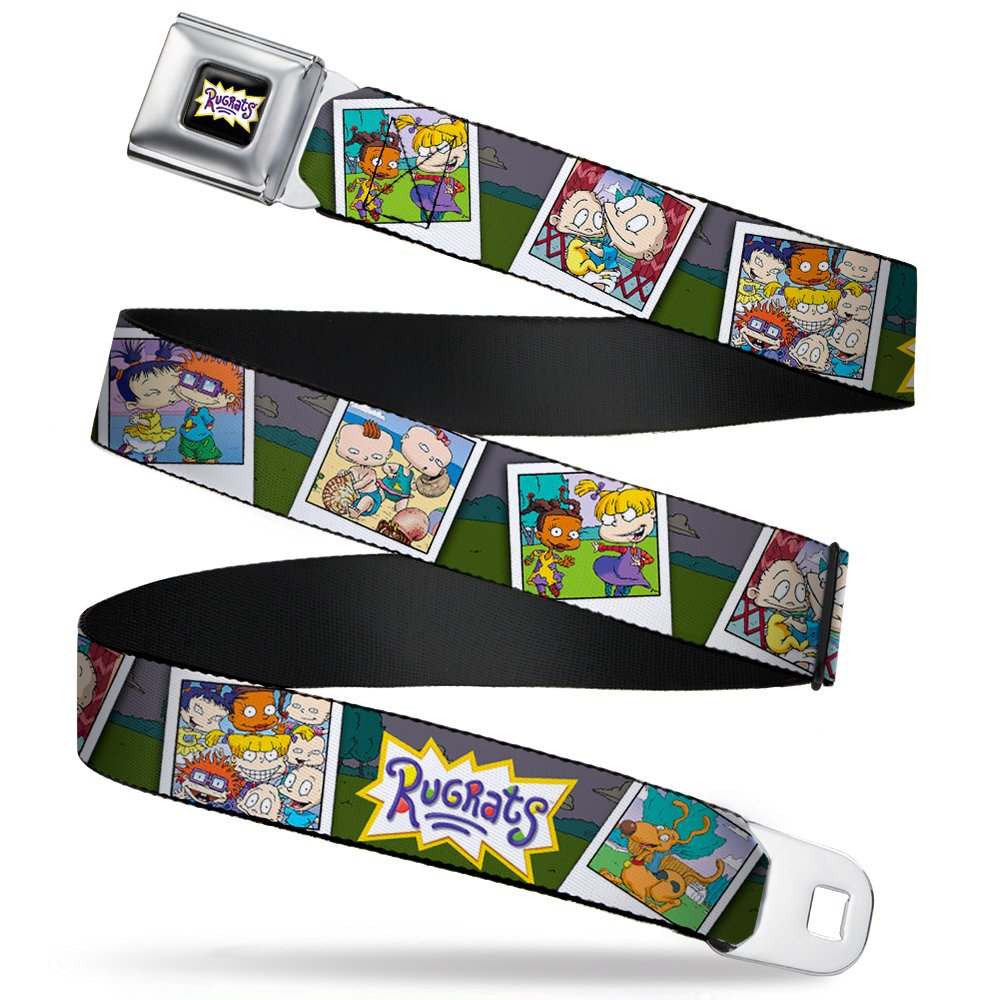 Nickelodeon Boys' Buckle-Down Seatbelt Belt Rugrats Wrr007