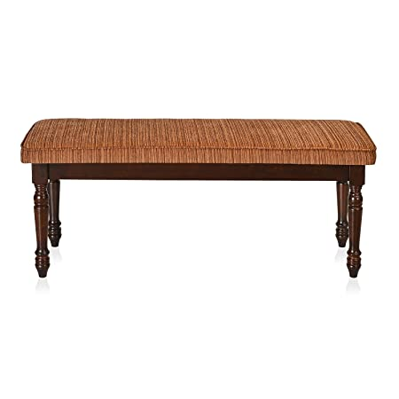 @home by Nilkamal Isabella Dining Bench (Brown)