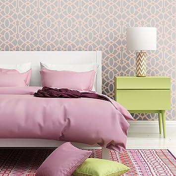 J Boutique Schablonen Wand Schablone Gitter Gitter Allower Muster Peridot  Smaragd Für Wand Zimmer DIY