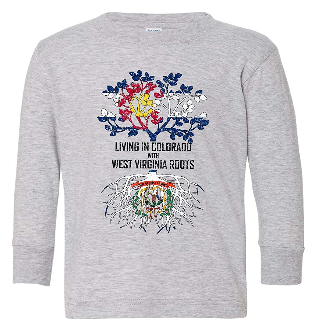 Tenacitee Babys Living in Colorado with West Virginia Roots Shirt