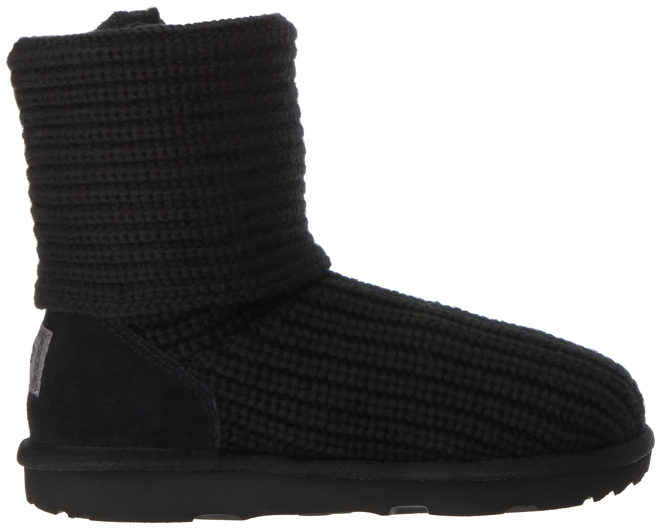 UGG Girls K Cardy II Pull-On Boot, Black, 8 M US Toddler by UGG (Image #7)