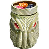 Halloween Forevermore Cthulu Ceramic Wax Warmer   Flameless & Easy to Clean   Handcrafted Horror-Style Character Aromatherapy Candle Warmers