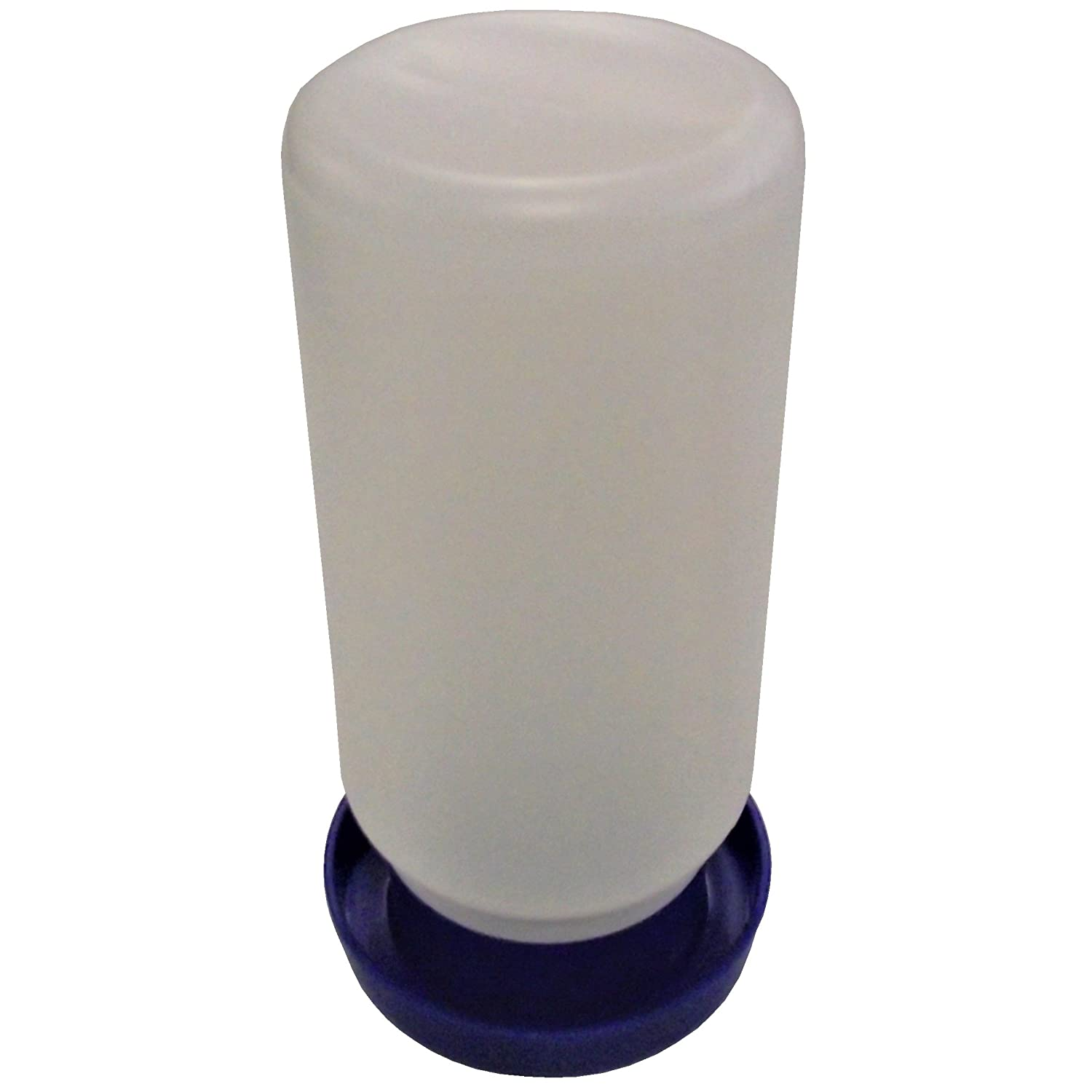 QUAIL /& CHICK POLY SAFETY WATERER DRINKER BASE FOR ONE QUART JAR CHICKEN CHICKS