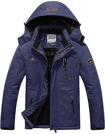 2443237993 Memoryee Uomo in Pile Giacca Invernale da Multi-Tasche Antivento Outdoor  Sports Impermeabile Traspirante Giacca