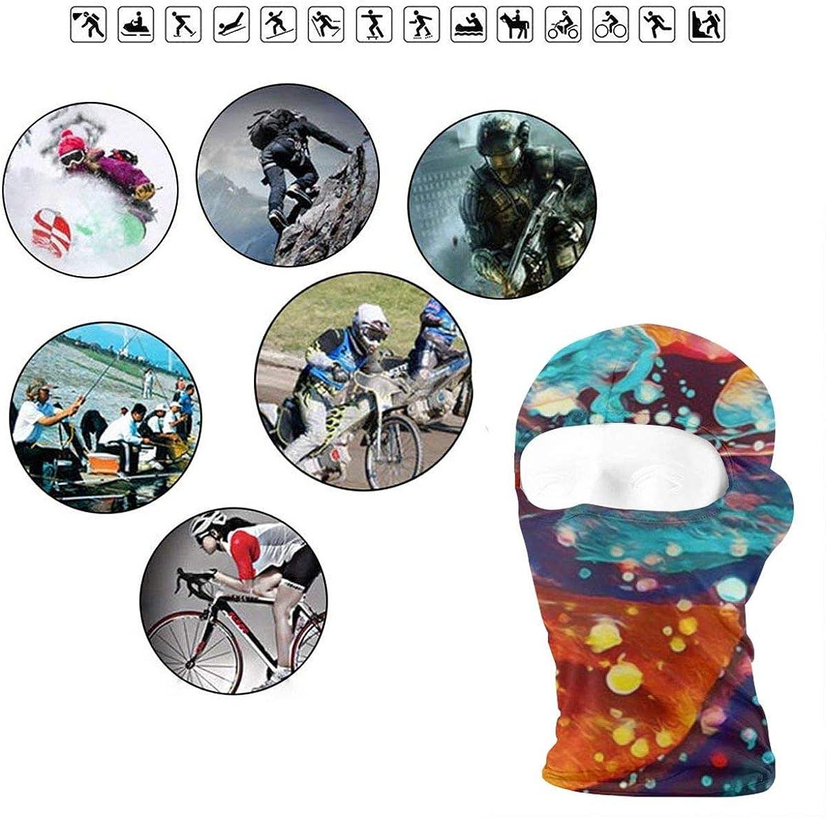 CAClifestyle Fancy World Unisex Windproof Balaclavas Full Face Mask Hood