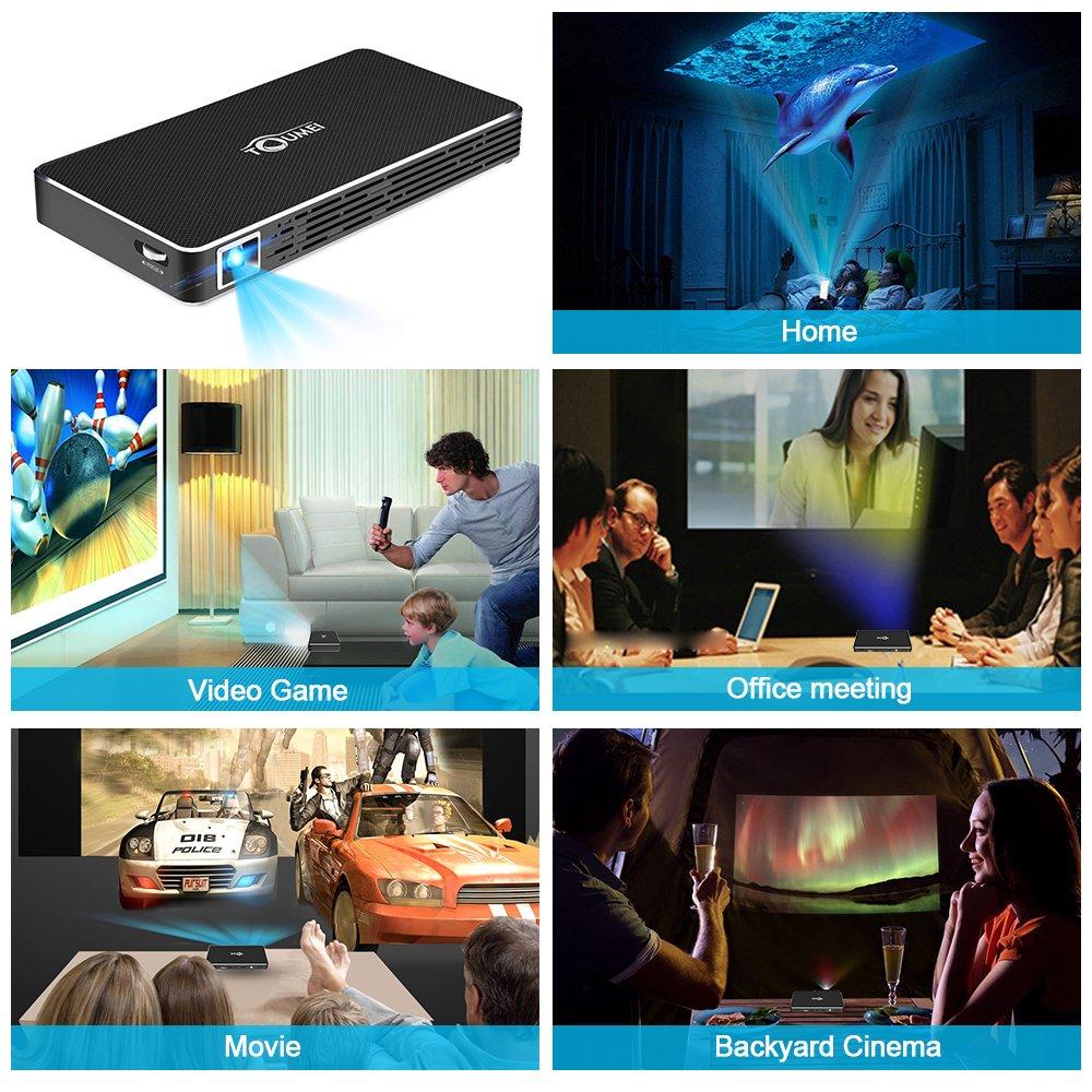 mini video projector mindkoo 100 ansi lumens mini amazon co uk