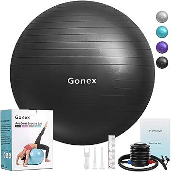 Amazon.com: Gonex - Pelota de ejercicio antipinchazos y ...